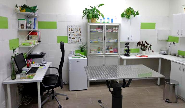 Vyšetřovna veterinární ordinace Brno MVDr. Boris Seman